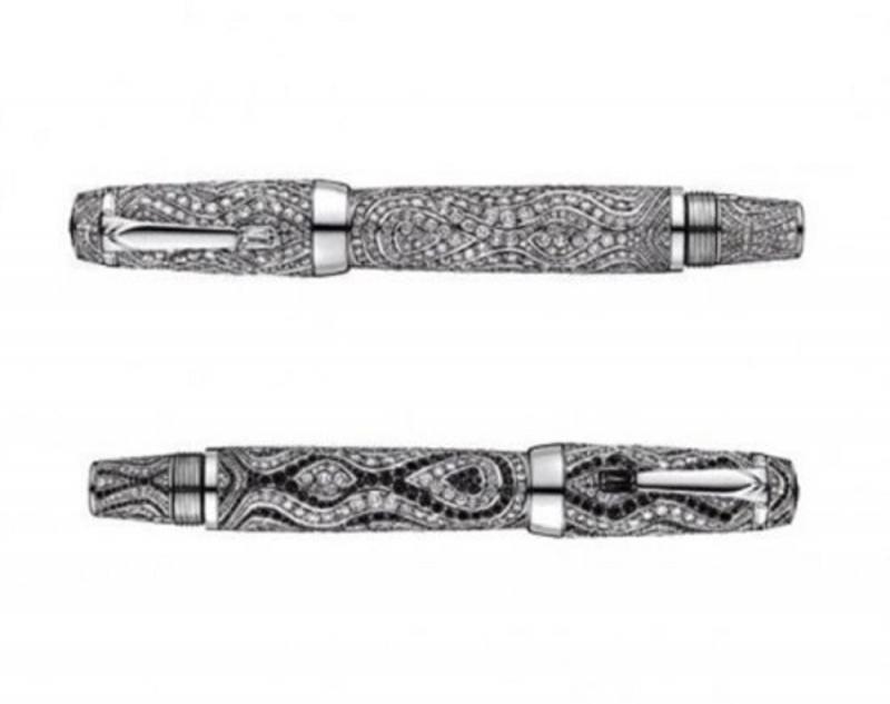 Bút bi của Hoàng tử Rainier III