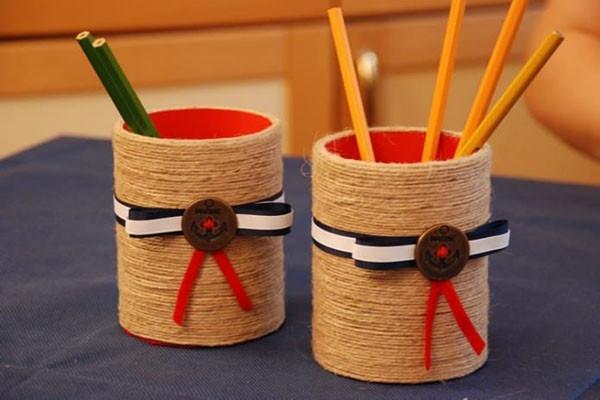 Bút chì tái chế từ vỏ cây khô