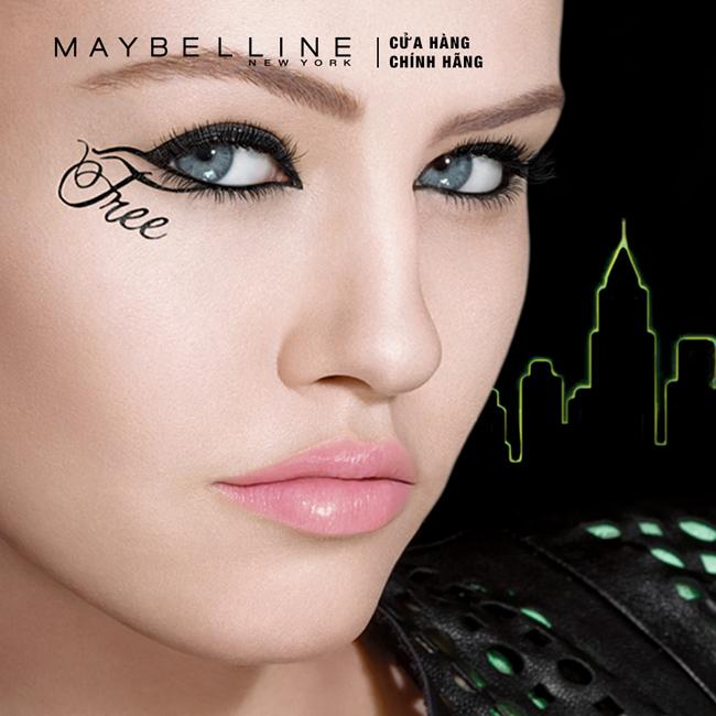 Sản phẩm bút kẻ mắt nước Maybelline Hyper Sharp áp dụng công nghệ màng phim hiện đại, đảm bảo giữ cho đường kẻ được bền màu, không lem, không trôi suốt 17 giờ.