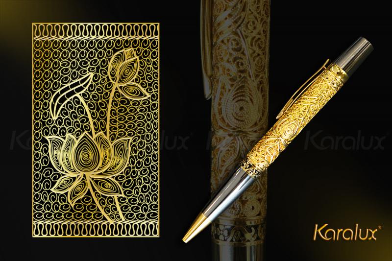 Bút ký cao cấp dát vàng