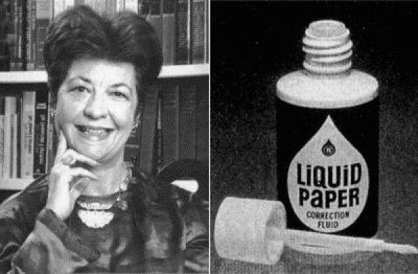 Bà Bette Nesmith - người đã phát minh ra bút xóa