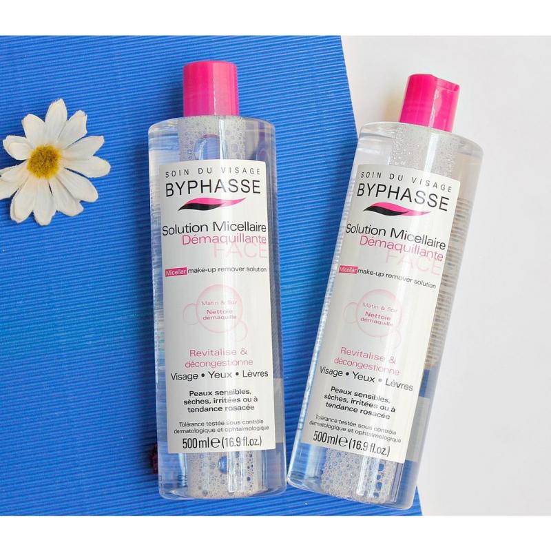 Khi sử dụng Byphasse Micellar, làn da sẽ được làm sạch thông thoáng và loại bỏ bụi bẩn.