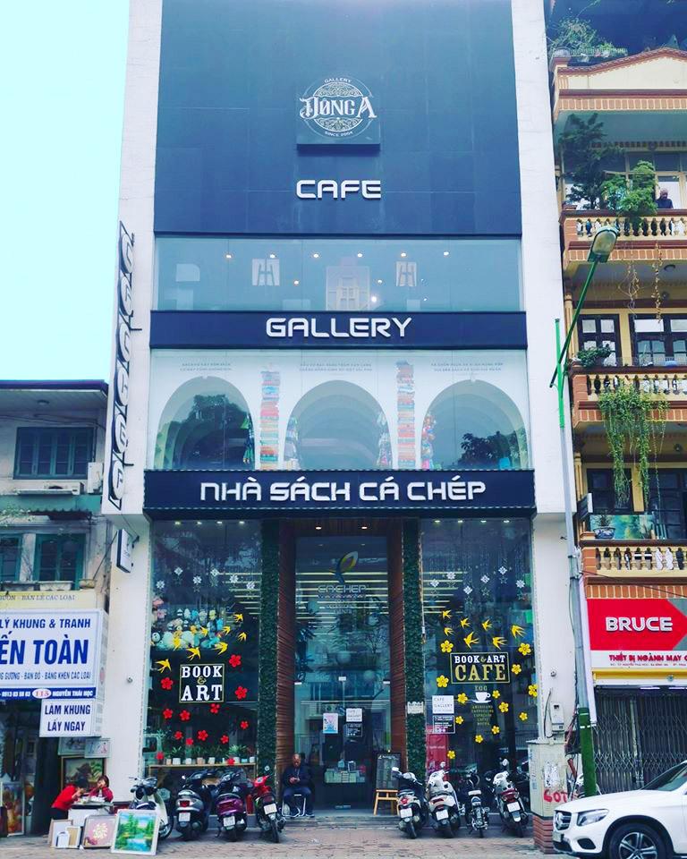 Cá Chép Cafe & Book Store