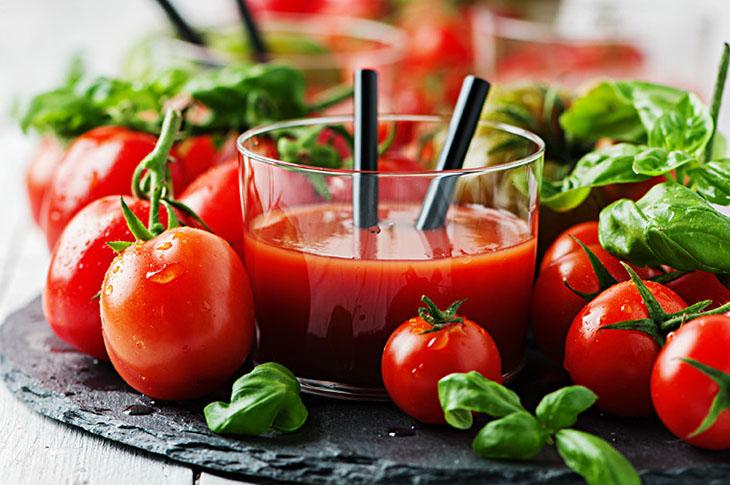 Cà chua giúp giảm cân hiệu quả