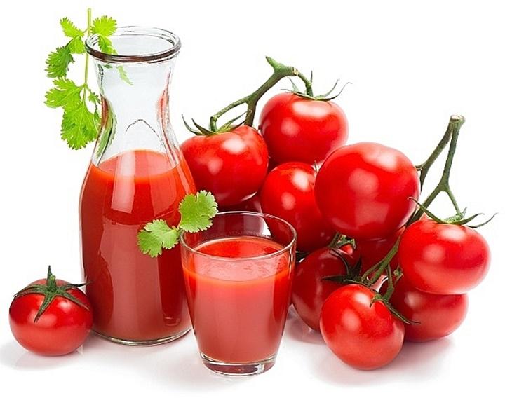 Choline, kali, chất xơ và vitamin C trong cà chua giúp cải thiện chức năng của tim