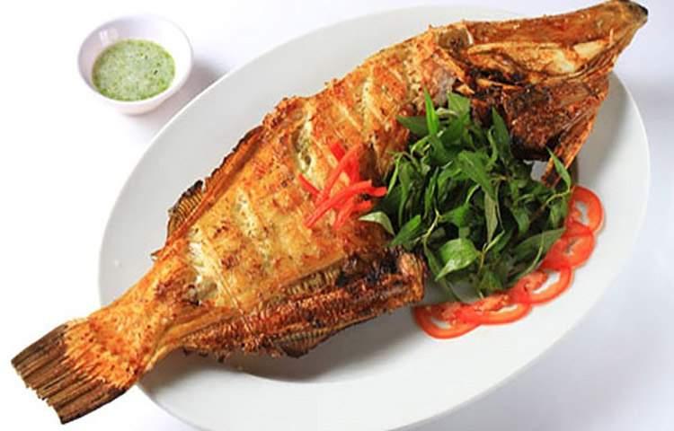 Cá da bò nướng