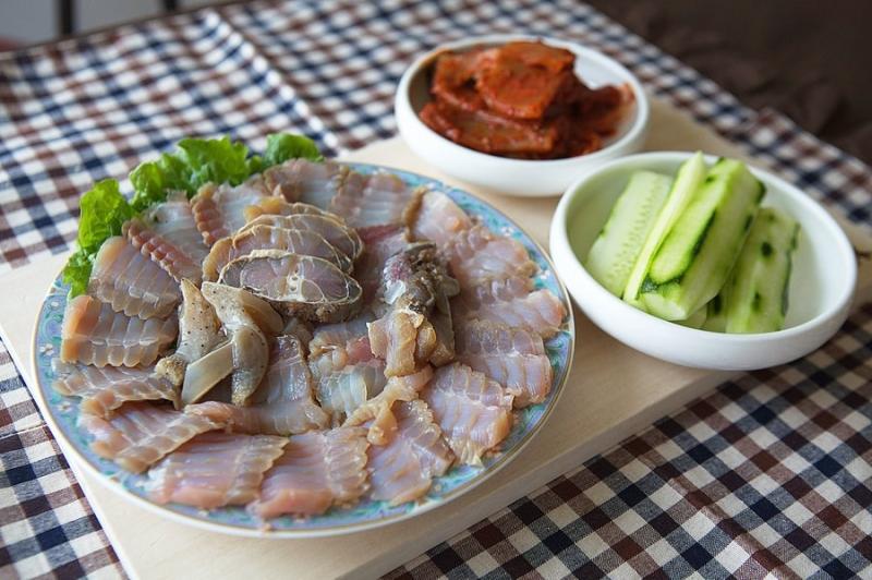 Cá đuối lên men -  Hongeo