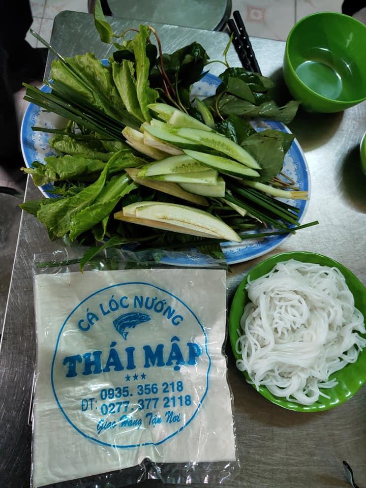 Cá Lóc Nướng Thái Mập
