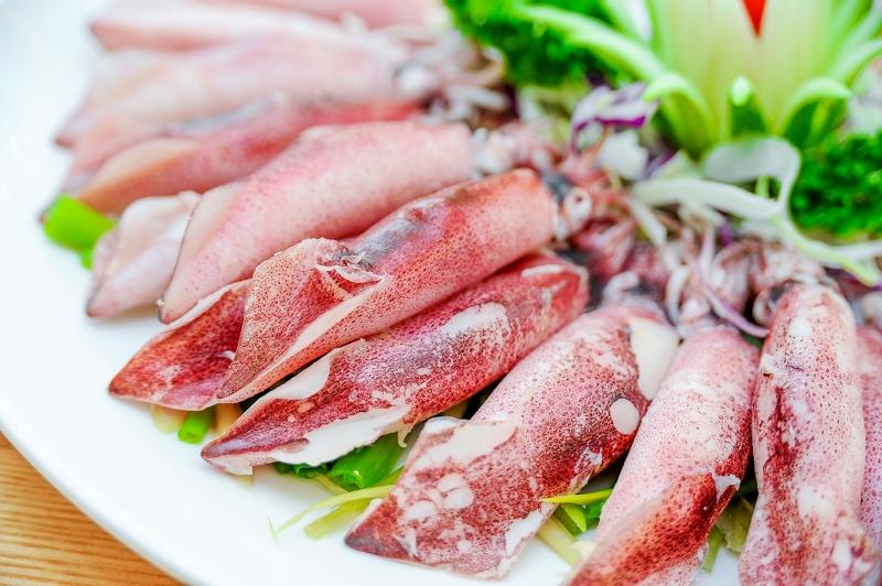 Mực còn được đánh giá cao do chứa ít chất béo bão hòa và ít natri.