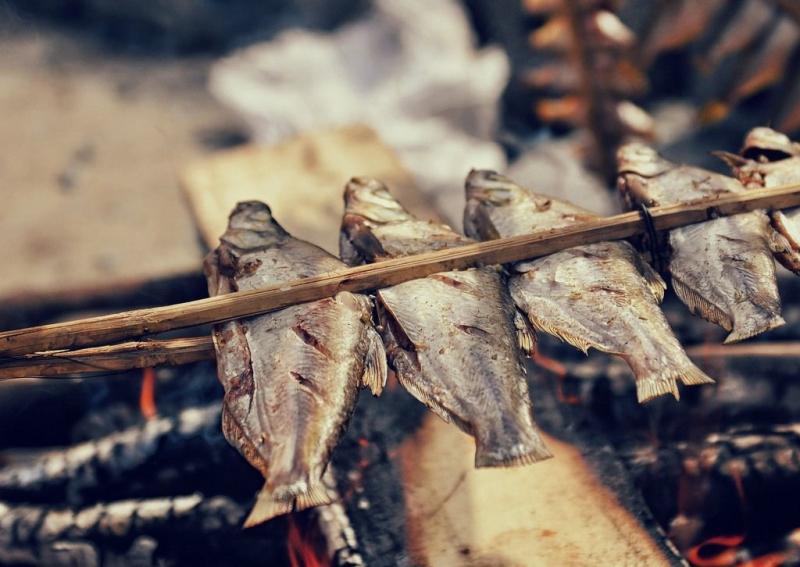 Cá nướng/ đồ Sông Đà - Hòa Bình