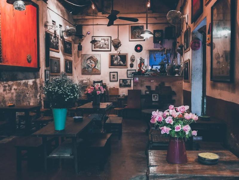 Top 10 quán cà phê view đẹp ở Quận Cầu Giấy, Hà Nội