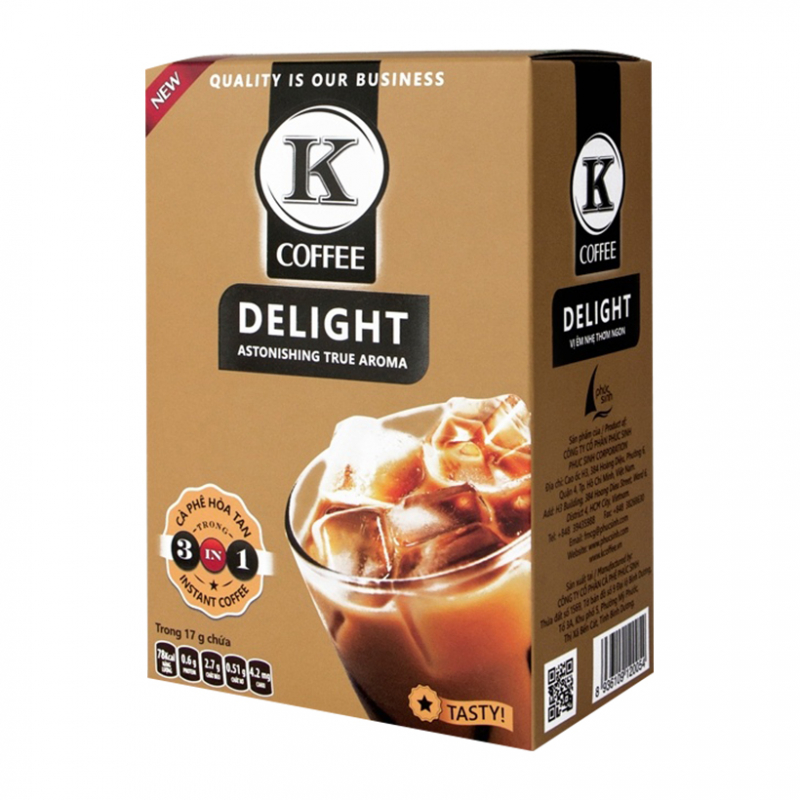 Cà phê hòa tan K-Coffee Delight 3in1