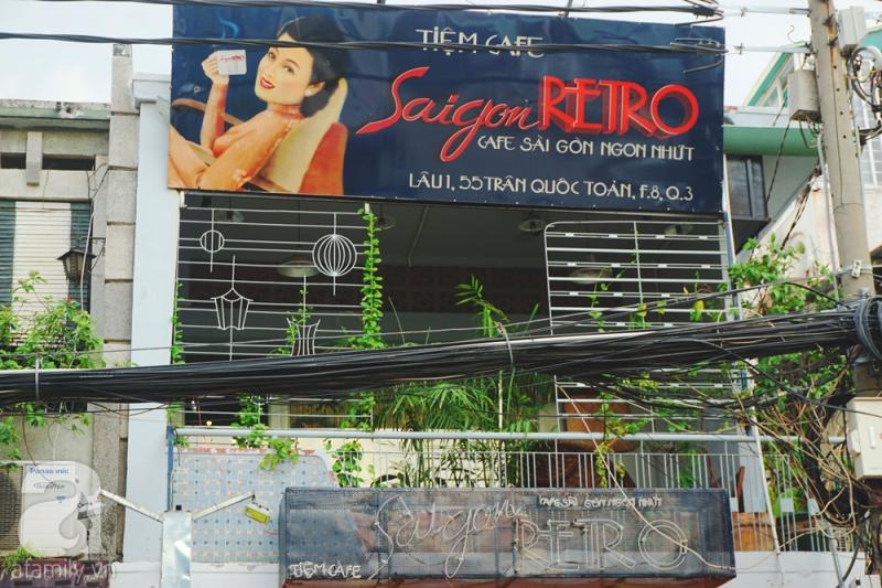 Cà phê Sài Gòn Retro