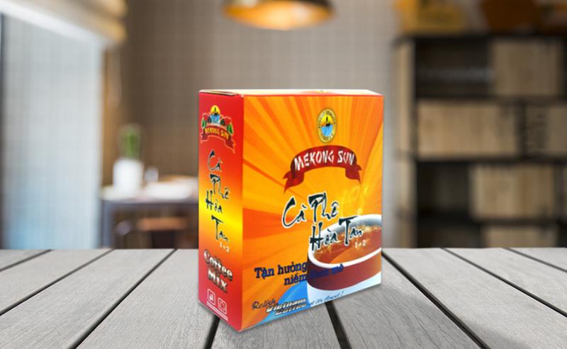 Cà phê sữa hòa tan Mekong Sun