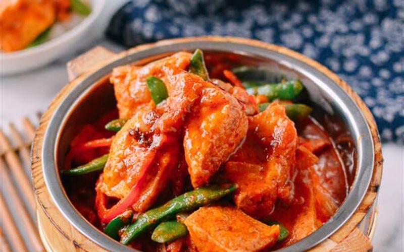 Cà ri đỏ Khmer