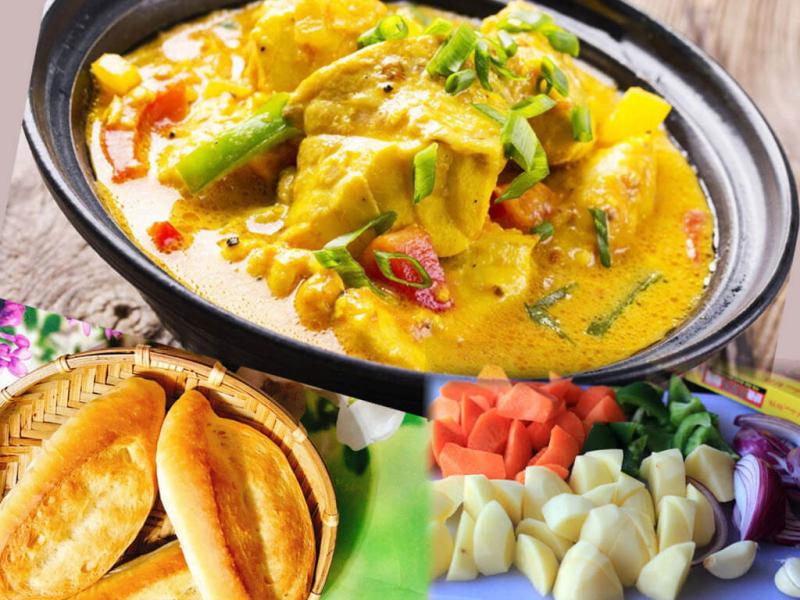Cà ri - món ăn không thể thiếu của người dân Ấn Độ