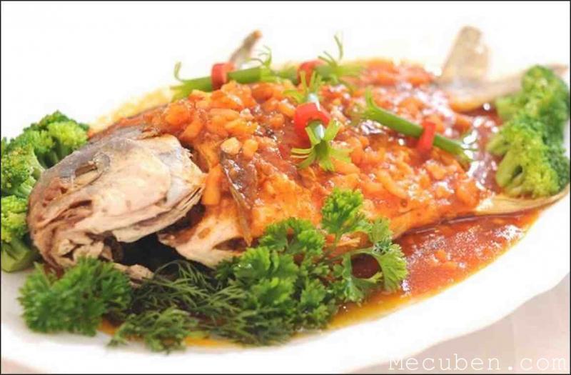 Cách nấu cá rô phi sốt cà chua đơn giản