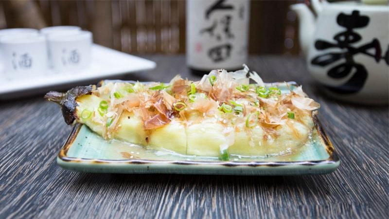 Món ăn phụ trợ được tìm thấy ở các nhà hàng Nhật Bản