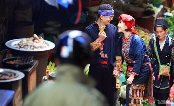 Thật dí dởm khi bộ ảnh cưới của bạn khoắc lên mình những sắc thái của các bản làng dân tộc ở Sapa