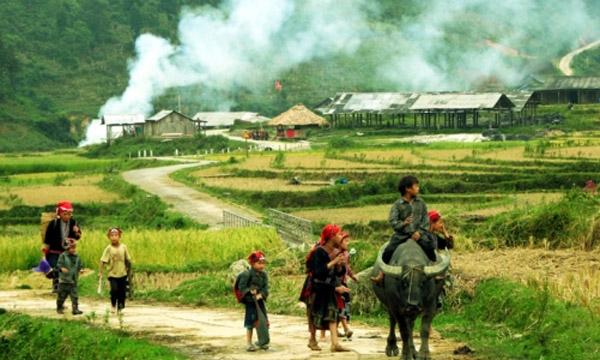 Các bản làng ở Sapa yên bình
