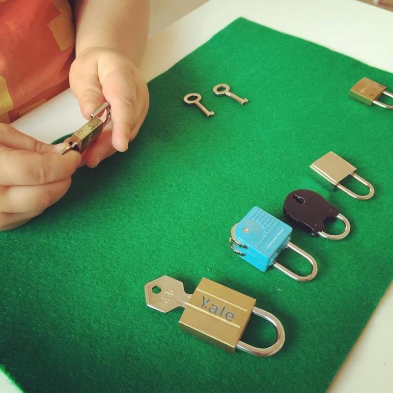 Chọn chìa khóa phù hợp với ổ khóa