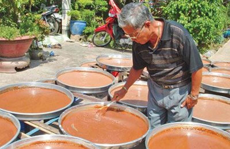 Nghề làm mắm tôm chà ở Gò Công