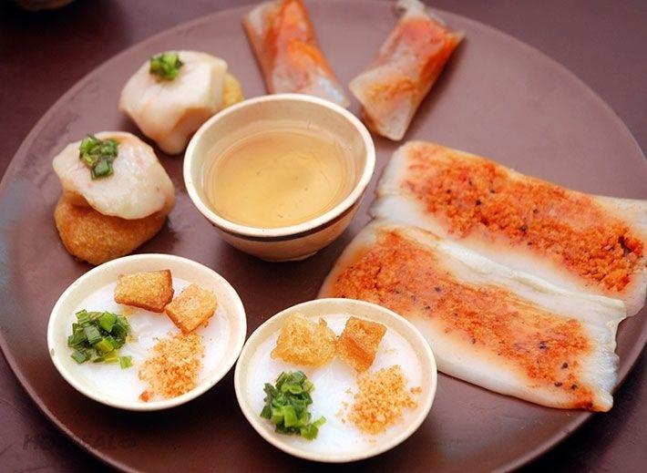Các loại bánh Huế: Bánh bèo, bánh bột lọc, bánh khoái