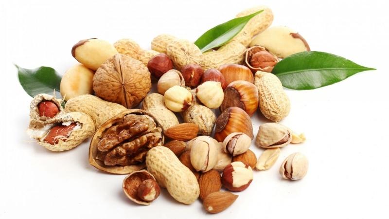 Hãy bổ sung các loại hạt vỏ cứng vào thực đơn hằng ngày của bạn.