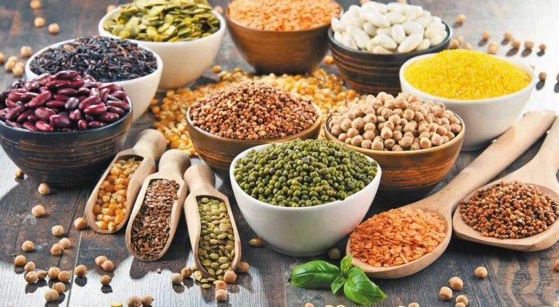Các loại hạt hay bột ngũ cốc