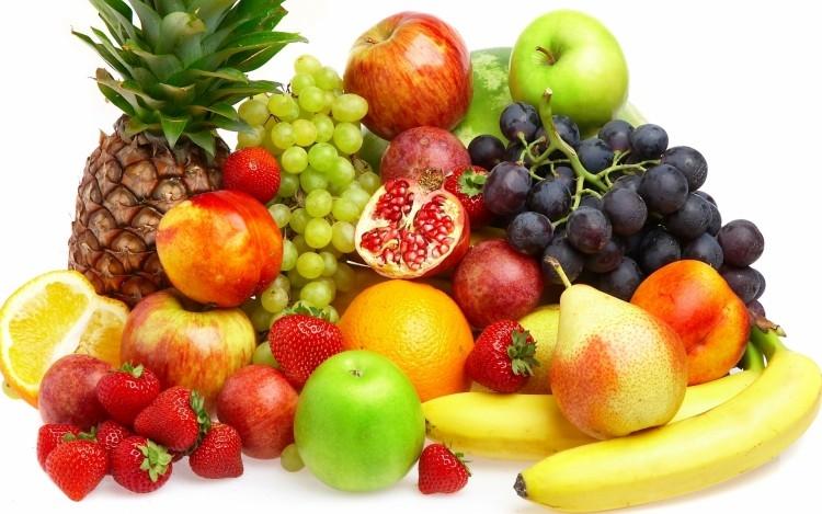 Các loại hoa quả: