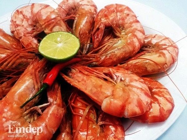 Các loại thủy hải sản: