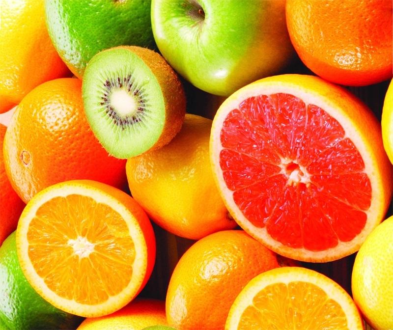 Các loại trái cây có màu sắc tươi sáng