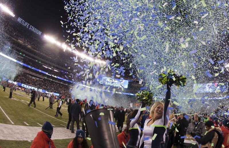 Sự kiện Super Bowl XLVIII diễn ra tại tiểu bang New Jersey (Mỹ) năm 2014