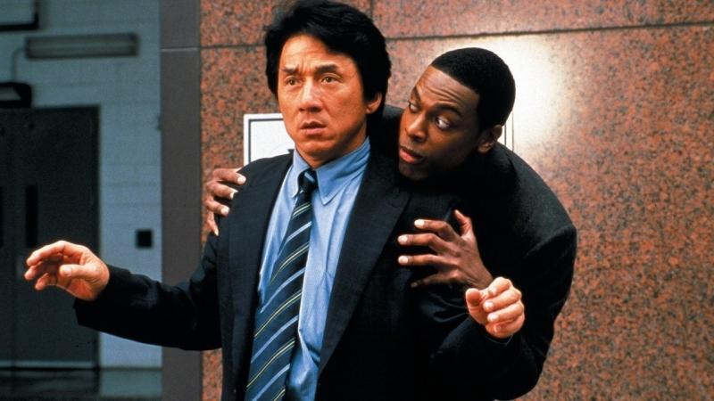 Jackie Chan và Chris Tucker trong bộ phim Rush Hour 2