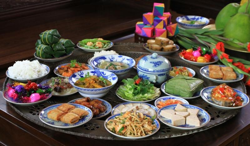 Top 20 món ăn truyền thống trong ngày Tết cổ truyền Việt Nam không thể thiếu
