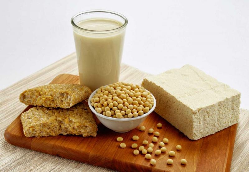 Các món được chế biến từ đậu nành