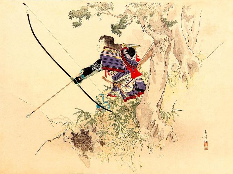 Các Samurai ưa thích việc săn bắn chó