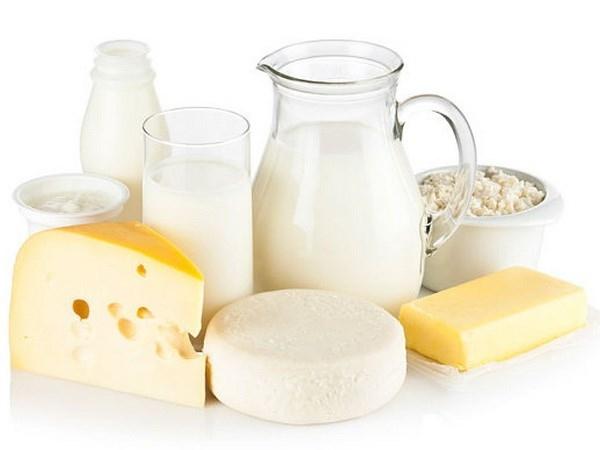 Các sản phẩm từ sữa: