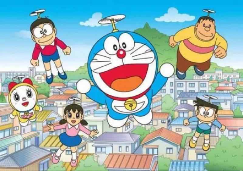 Các tên nhân vật trong Doraemon đều mang một ý nghĩa nhất định