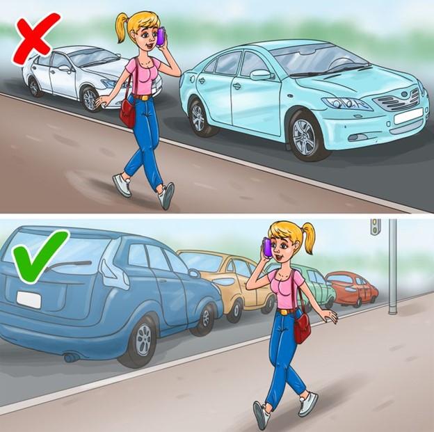 Đi ngược chiều xe cộ