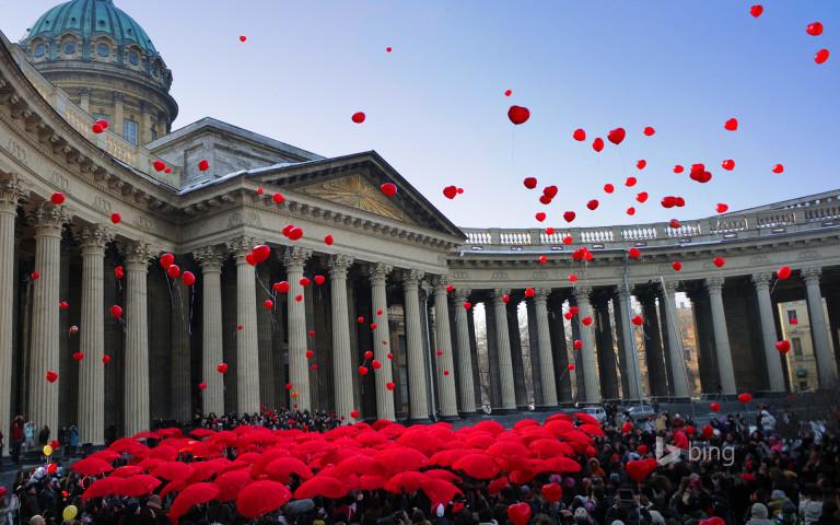 Kỷ niệm ngày Quốc tế Phụ nữ tại Saint Petersburg, Nga