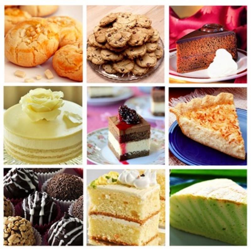 Top 10 món bánh cực ngon với cách làm đơn giản