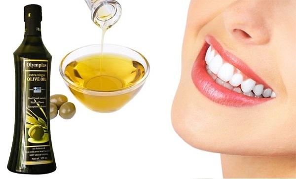 Cách làm trắng răng đơn giản và hiệu quả bằng dầu Oliu