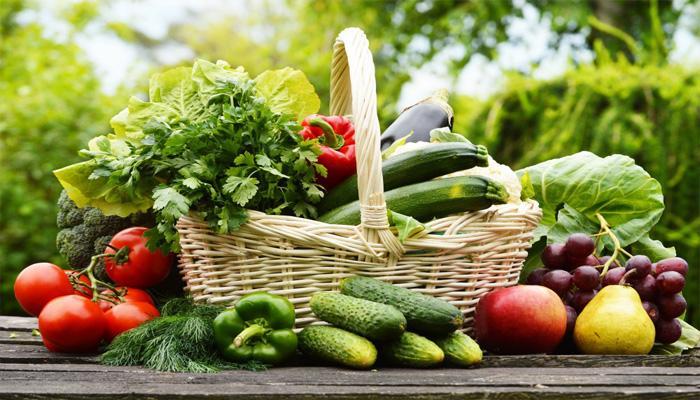 Ăn nhiều rau quả tươi