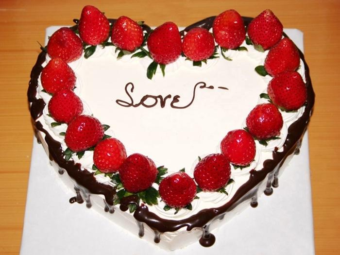 Cùng nhau làm bánh trong ngày Valentine