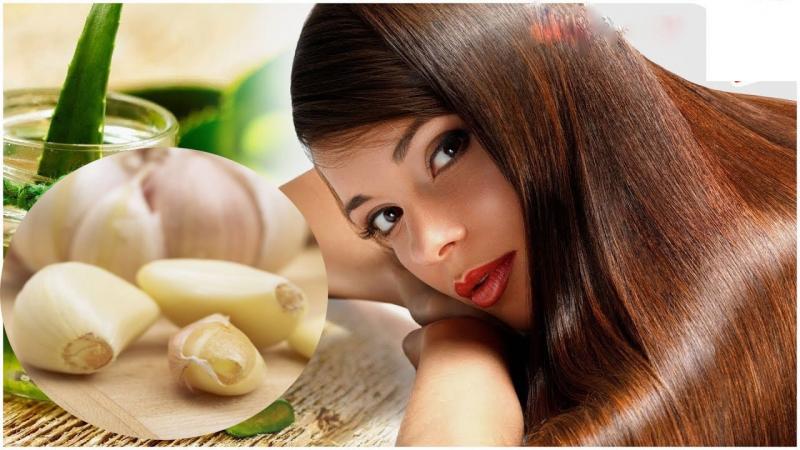 Cách trị rụng tóc với tỏi