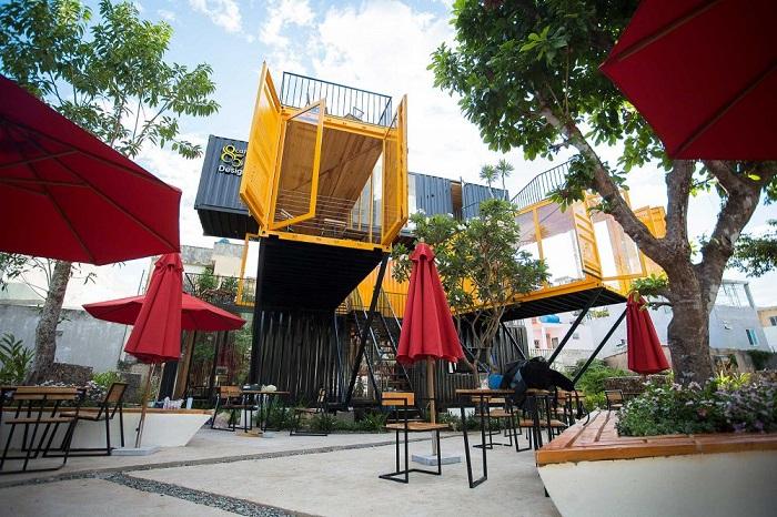 Top 4 quán cà phê container đẹp nhất tại Đà Nẵng