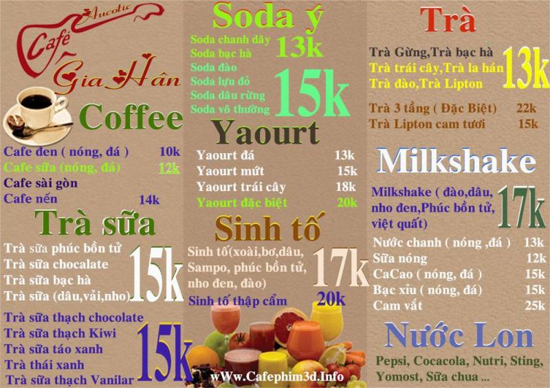 Cafe Gia Hân