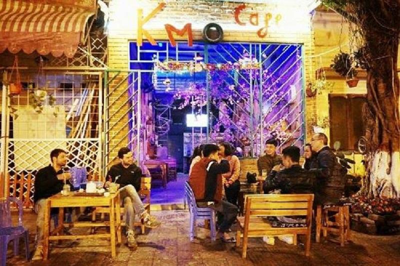 Quán nằm ngay bên hông quảng trường thành phố Hà Giang