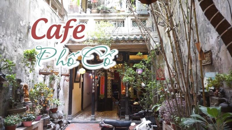 Một góc cafe Phố Cổ